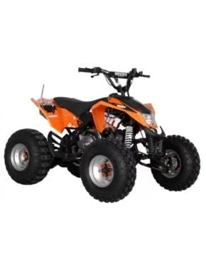 ATV 125 ccm Orange
